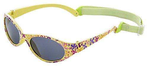 Sonnenbrille für Mädchen | Alter/Größe: Kinder 2 bis 5 Jahren | VOLLSTÄNDIG FLEXIBLEM Gummi | 100% UVA- und UVB-Schutz | sicher, bequem und widerstandsfähig | ideales Geschenk | Kiddus Comfort