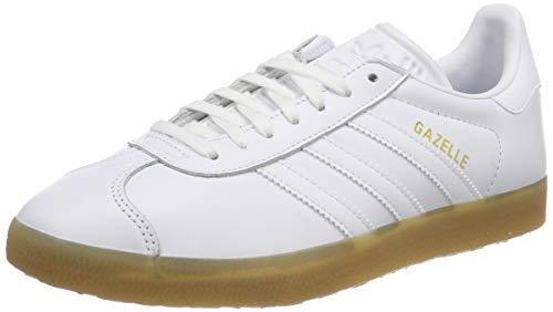 free shipping fe411 2c1b3 adidas Men s Gazelle Bd7479 Gymnastics Shoes, White (Ftwr White Gum 3),