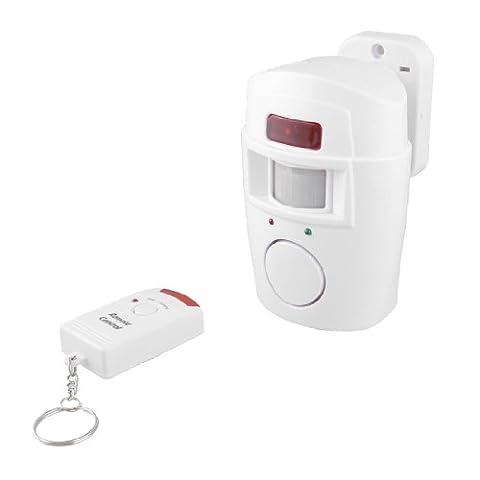 De Sécurité de mouvement sensibles Télécommande Intruder Alarme d'avertissement sonore 105dB