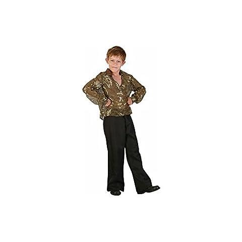 P'TIT CLOWN 81123 Déguisement Enfant Luxe Disco - S - Multicolore