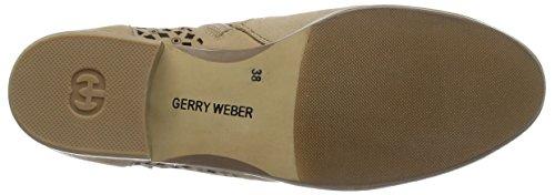 Gerry Weber Sherly 09, Bottes Desert courtes, non doublées femme Beige - Beige (sisal 206)
