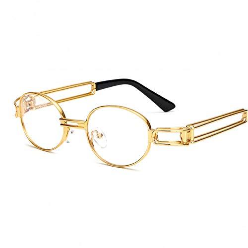 sijiaqi Hip Hop Kleine Runde Sonnenbrille Frauen Steampunk Sonnenbrille Männer Gold Sonnenbrille Für Frauen Rahmen Eyewear Oculo,Style 7