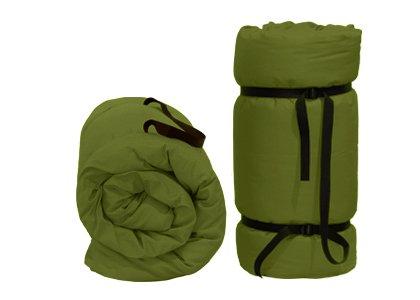 Tragbare Futon Grüne, 200x80x3 cm Yoga-futon