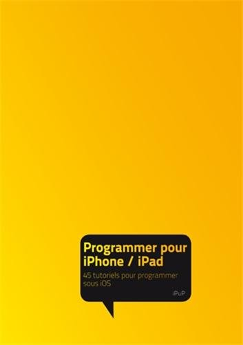 Programmer pour iPhone/ iPad