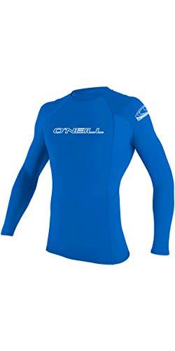 O';Neill Grund Skins Langarm - Mannschaft Schnell Dry Leicht Rash Vest Top Pacific - UV - Sonnenschutz und SPF - Eigenschaften -