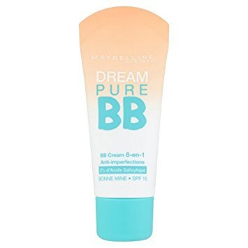 Maybelline Dream Pure BB Universal Glow - face BB & CC creams (Women, Combination skin, Dry skin, Normal skin, Oily skin, Anti-redness, Hydrating, Pore tightening, Shine, Softening, Universal Glow, Tube)