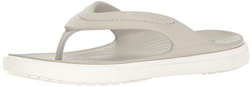 crocs Unisex-Erwachsene Citilaneflip Pantoffeln, Weiß (Pearl White/White), 37-38 EU