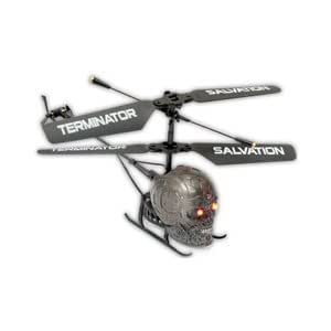 Bladez Toyz Terminator Salvation Terminator Heli Combat Mini RC Helicopter