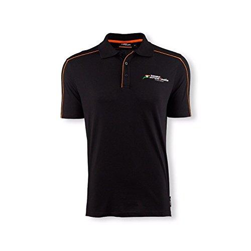 Fuerza India Polo Camiseta para Hombre, Medium
