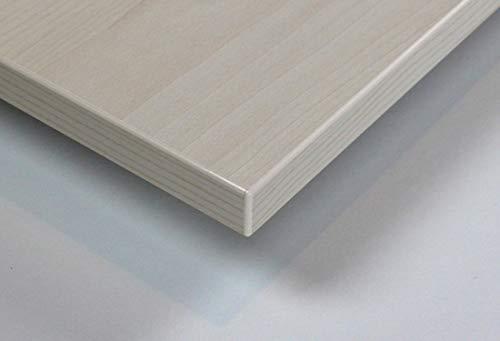 MySpiegel.de Tischplatte Holz Zuschnitt nach Maß Beschichtete Holzdekorplatte (120 x 70 cm, Ahorn Hell)