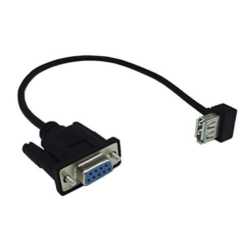 Preisvergleich Produktbild LouiseEvel215 USB 2.0-Schnittstelle und RS232-DB9-Adapter für serielle Kabelkonvertierung
