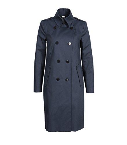 drykorn mantel damen Drykorn Damen Baumwollmantel Buckey in Blau 34 blau 3