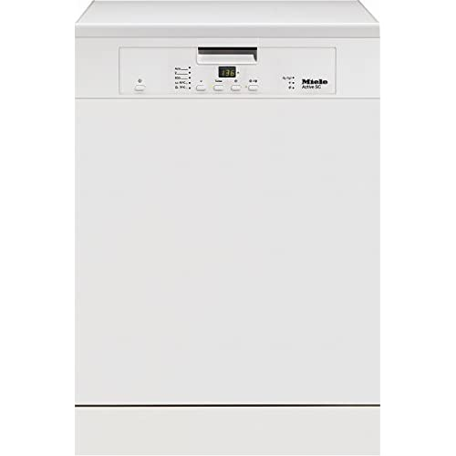 31SEyU%2BFnKL. SS500  - Miele G4203SC White Freestanding Dishwasher with Cutlery Tray