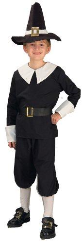 Thanksgiving Pilgrim Boy Costume Child - Kinder Pilgrim Boy Kostüm