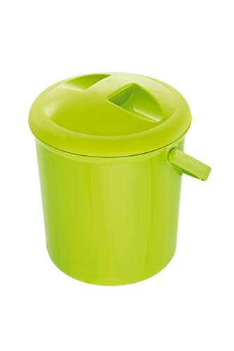 *Rotho Babydesign Windeleimer,10l, Ab 0 Monate, Bella Bambina, Apple Green (Grün), 200210205*