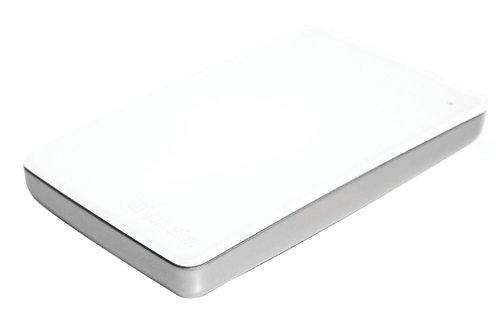 Festplatte Fw800-externe (Verbatim MAC 500GB externe Festplatte (6,4 cm (2,5 Zoll), 5400rpm, FW800, USB 3.0) weiß)
