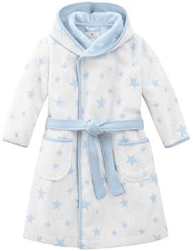 Bellybutton Kids Baby - Jungen Bademantel Bademantel mit Gürtel und Sternen 10959-40248