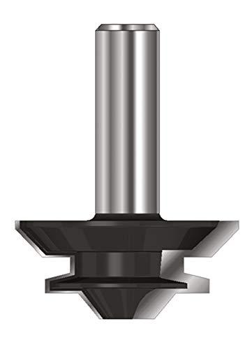 ENT 16380 Gehrungs-Verleimfräser HW (HM), Schaft (C) 8 mm, Durchmesser (A) 38,1 mm, B 12,7 mm, E 6°, D 32 mm