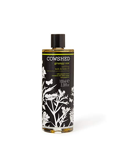 Cowshed Grumpy Cow Uplifting Bath & Body Oil 100ml (Oil Natural Bath)