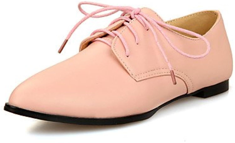 ZQ Zapatos de mujer - Tacón Plano - Comfort / Puntiagudos / Punta Cerrada - Oxfords - Exterior / Oficina y Trabajo...