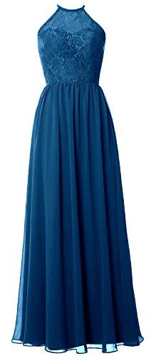 MACloth -  Vestito  - linea ad a - Senza maniche  - Donna Teal