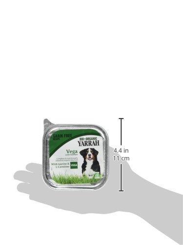 Yarrah Vegetarische Bröckchen 150 g Bio Hundefutter, 14er Pack (14 x 0.15 kg) - 5