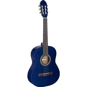 M-C430 C430 Stagg-Chitarra classica 3/4, colore: blu