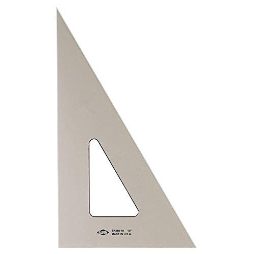 Smoke-Tint inchiostrazione 30/60/90 Triangolo 6In