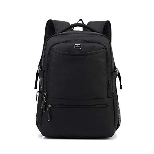 WYX Reise-Laptop-Rucksack, Highschool College-Rucksack Business-Computer-Rucksack-Tasche mit USB-Ladeanschluss, wasserdicht