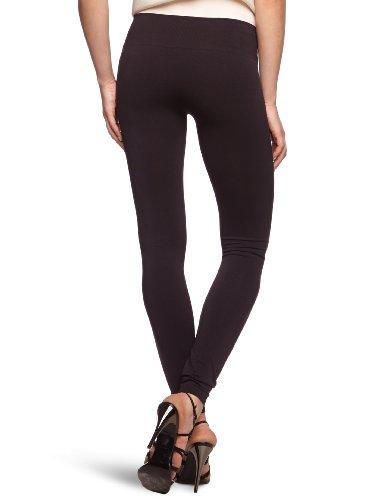 VILA CLOTHES Damen Legging 14015851 Seam Schwarz (Black)
