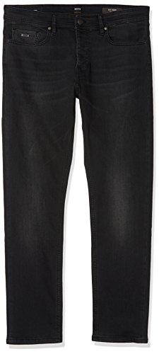 BOSS Herren Taber Bc Tapered Fit Jeans, Schwarz (Black 008), 36W / 32L -