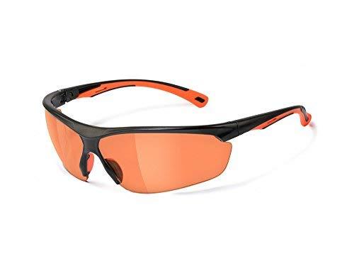 MSA Safety Move EN166 - kontrastverstärkende Fahrradbrille Sonnenbrille Freizeitbrille