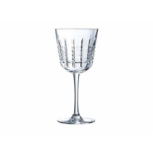 Cristal d'Arques Coffret 6 Verres à vin ' Rendez