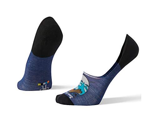 Preisvergleich Produktbild Smartwool Herren Socken Men's Curated Old Bear and The Sea No Show,  Blau (Dark Blue 491) 7 / 10 / 2018 (Herstellergröße: Large)