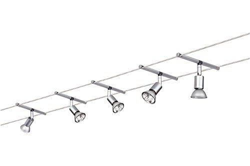 Paulmann 97251 Wire System Spice Salt 105 5x20W GU5,3 Chrom matt 230/12V 105VA Metall - 3