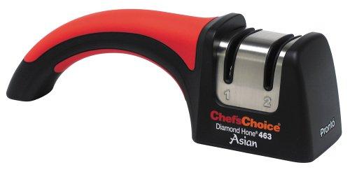 Chef's Choice 463 Pronto Manueller Messerschärfer für asiatische Messer (Serrated Sharpener Diamond Knife)