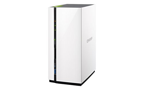 QNAP TS-228 - Dispositivo de almacenamiento en red NAS (ARM v7, 1 GB RAM, USB 3.0, SATA III) blanco
