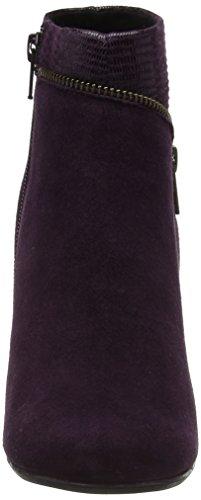 Hotter Vanity, Bottes Femme Purple (Plum-Plum Snake)