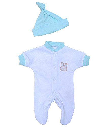 bf355b9fc BabyPrem Premature Baby Sleepsuit   Hat Set Boy Girl Clothes 0-3.5lb ...