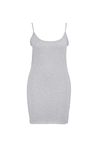 Grau Damen Plus Neve Bodyconkleid Mit Schmalen Trägern Grau