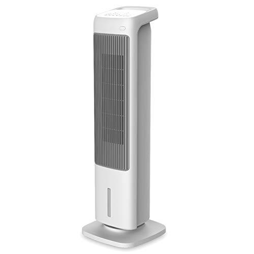 Radialight omni rinfrescatore d'aria multifunzione 4-in1 ventilatore a torre, umidificatore, termoventilatore ceramico, 50w, serbatoio 1,8 litri, ideale per stanze fino a 16 mq, 50 w, plastica