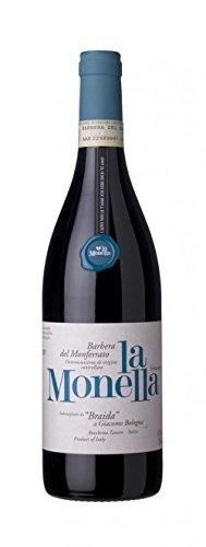 Braida - La Monella Barbera del Monferrato Frizzante 1,5 lt. Magnum in Cassa Legno