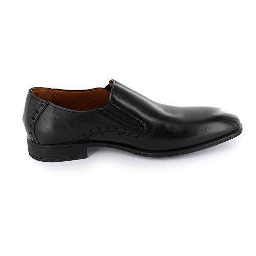Tommy Hilfiger Rupert 11A Herren Business-Slipper aus Glattleder in schwarz Black