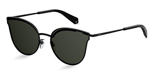 Polaroid Sonnenbrille für Damen und Herren - Polarisierte Gläser mit UV400-Schutz - Inklusive Einsteck-Etui und Mikrofasertuch Modell: 4056/S (2O5M9, 58)