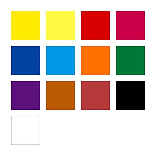 Staedtler Noris Club 888 NC12 Farbkasten, leicht mischbare Wasserfarben, hohe Farbbrillanz, hervorragende Deckkraft, Set aus 12 auswechselbaren Farbtöpfchen, 1 Tube Deckweiß und 1 Pinsel - 6