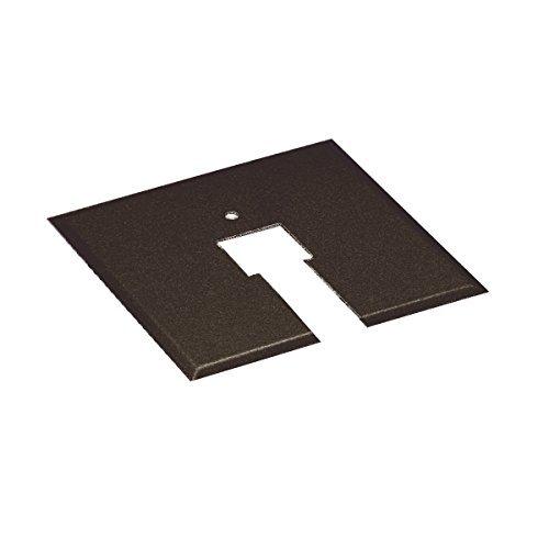 Bronze Canopy (WAC Lighting CP-DB Canopy Plate for Junction Box, Dark Bronze by WAC Lighting)