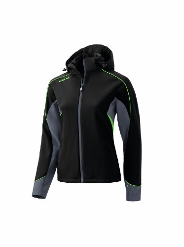 Erima Uni Softshell Style, black/anthracite/green, 42, 906132