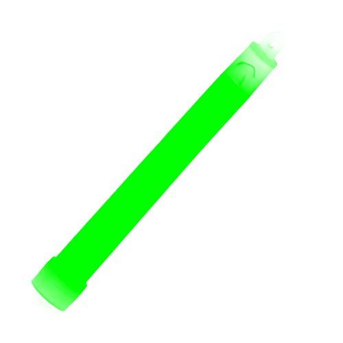 """10 Stück Leuchtstäbe Knicklichter Light Sticks für verschiedene Anwendungen 12 Stunden Premium-Hell 6\""""grün"""