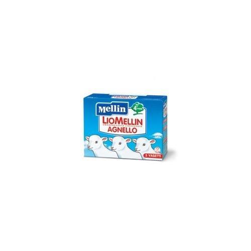 Mellin LioMellin Liofilizzati per Bambini, al Gusto Agnello - 3 Vasetti da 10 gr - Totale 30 gr
