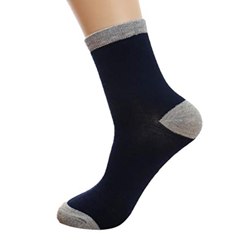 MCYs Midi Color Men's Socks Unisex Cute Retro Stripe Fashion Men Sock Comfortable Socks